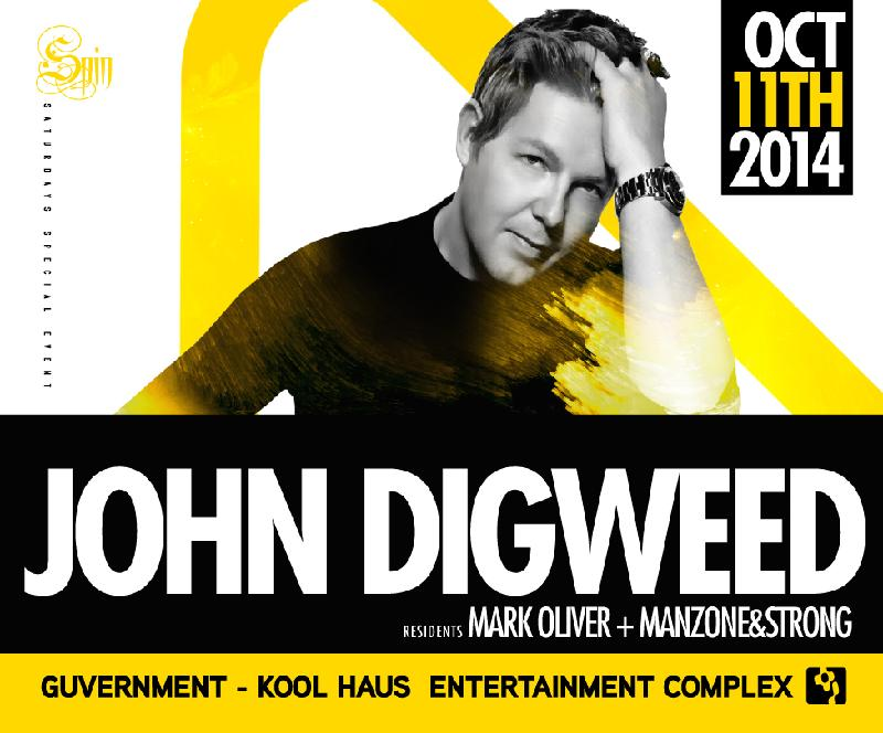John Digweed @ The Guvernment 2014