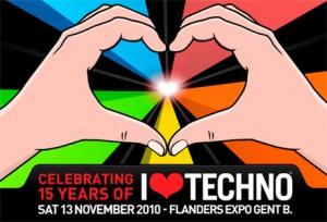 Techno event in Belgium