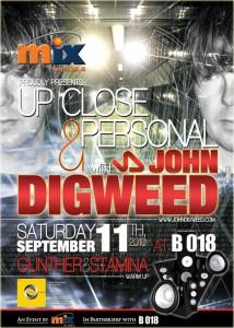 John Digwwed Live At B 018, Beirut, Lebanon